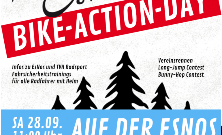 Sa. 28.09. – Bike-Action-Day & Vereinsrennen auf der EsNos 🏆🚀🥳