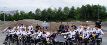 Supercross Strecke in Stuttgart eröffnet