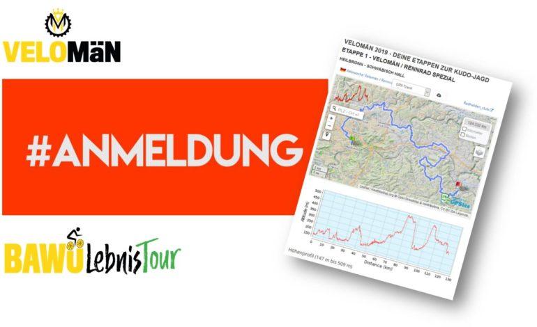 auf geht's: VELOMÄN & BAWÜLebnis-TOUR sind freigeschalten!