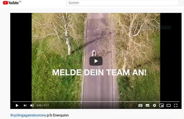Aktion #cyclingagainstcorona – tolle Initiative aus der Gathof-Ecke – anmelden und weitersagen!/20.04.2020