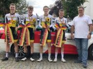 DM-Bronze für WRSV-Jugend/m beim Mannschaftszeitfahren in Genthin/ 06.09.2020