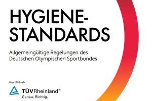 DOSB-Hygienekonzept für den nationalen Wettkampf- und Spielbetrieb