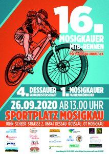 MTB: Beim 16. Mosigkauer Mountainbike-Rennen gibt's eine Premiere