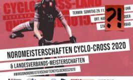 Betreffend Nordmeisterschaften Cyclo-Cross 2020 in Hamburg