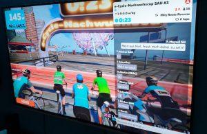 "e-Cycling ""Wahoo""-Nachwuchscup: Viele spannende Zielsprints"