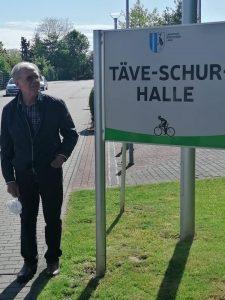 """Sporthalle in Burg in """"Täve-Schur-Halle"""" unbenannt"""
