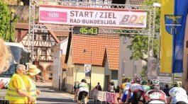 Rennrad: LVR beim Bundesliga-Auftakt in Karbach dabei