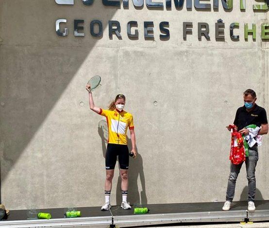 Linda Riedmann feiert Gesamtsieg der Tour du Gévaudan Occitanie femmes