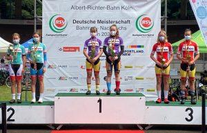 Rennsport: U15-Duo Rasch/Weber gewinnt DM-Silber im Madison