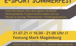 LVR beim E-Sport Sommerfest in Magdeburg