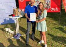 Begeisterter Empfang für Olympiasiegerin Lisa Klein – SRB verleiht goldene Ehrennadel